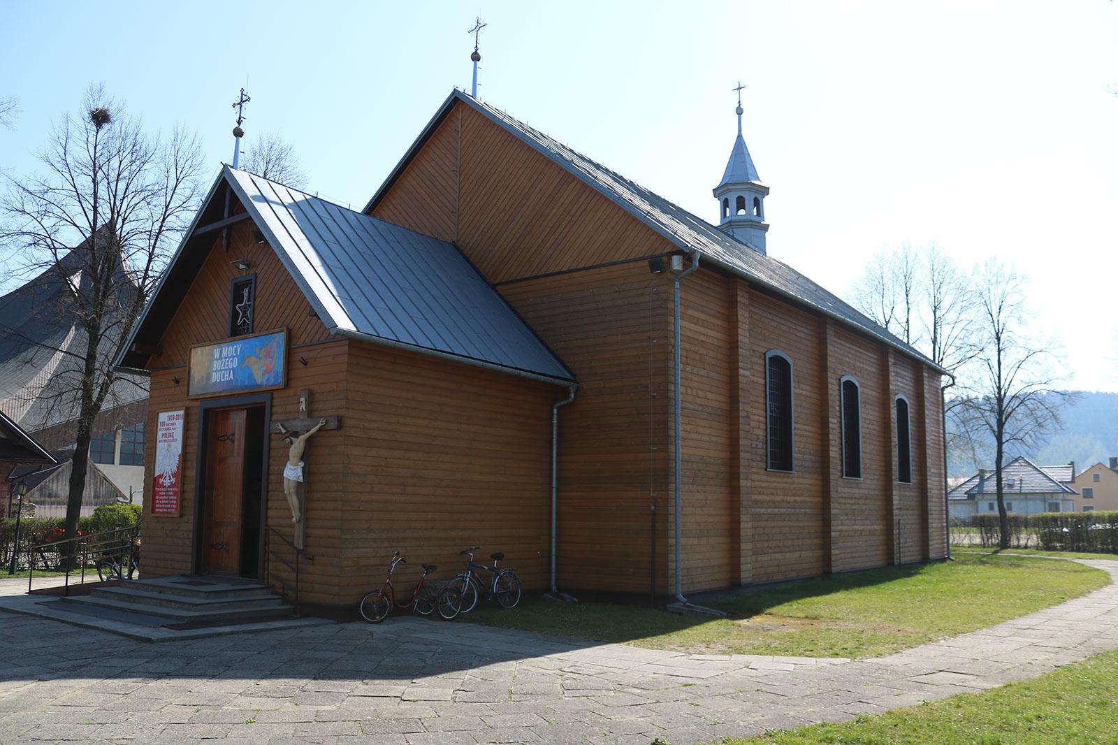 Kościół Gołkowice Dolne małopolska